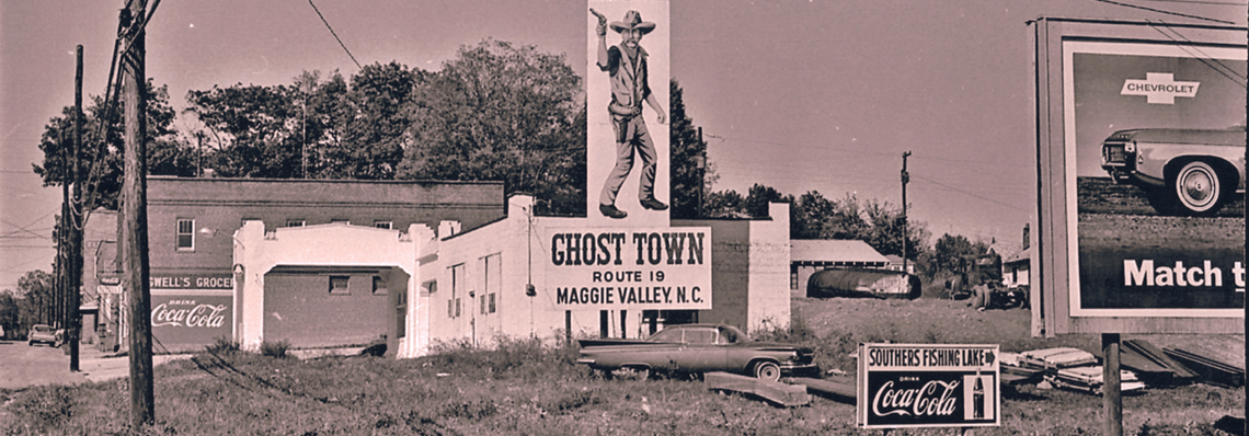 Fletcher NC Fall 1968 - Ghost Town Route